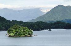 磐梯山の噴火で出来た湖沼群(1)