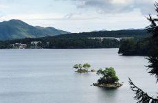 磐梯山の噴火で出来た湖沼群(2)